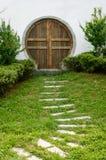 Ścieżki prowadzenie drzwi 2 obraz royalty free
