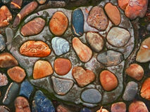 ścieżki rzeki skała Obrazy Royalty Free