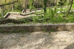Ścieżki z schodkami w parku Obrazy Stock