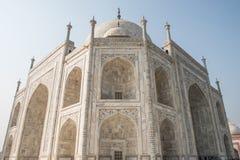 Ścienna architektura Na zewnątrz Taj Mahal Obraz Royalty Free