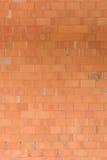 Ścienna cegła w vertical Obrazy Royalty Free