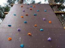 Ścienna pięcie ściana dla stażowych arywistów w parku Zdjęcie Royalty Free