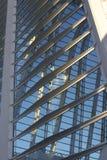 Ścienna szkło betonu stal Obrazy Stock