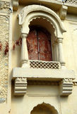 Ścienna sztuka i okno architektura 200 roczniaka świątynia obraz stock