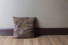 Ścienna tekstura z poduszką Obraz Stock