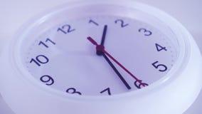 Ścienne bielu zegaru strzały zbiory