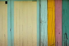 Ściennego colour tła drewniana tekstura Zdjęcia Royalty Free