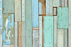 Ściennego colour tła drewniana tekstura Obrazy Royalty Free