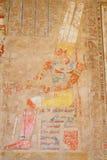 Ścienni Obrazy. Świątynia Hatshepsut. Egipt zdjęcie stock