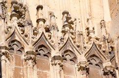 Ścienny architektoniczny szczegół Obrazy Royalty Free