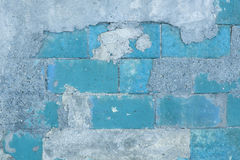 Ścienny błękitny tło Obrazy Stock