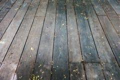 Ścienny drewna tło Obraz Royalty Free