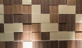 Ścienny drewniany tła światła pokój Fotografia Stock