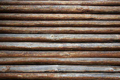 ścienny drewno Obrazy Stock