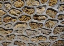 Ścienny kamienny tło fotografia royalty free