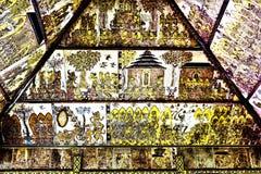 Ścienny malowidło ścienne przy Kartą Gosha Bali Zdjęcia Stock