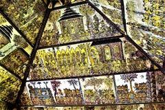 Ścienny malowidło ścienne przy Kartą Gosha Bali Obraz Stock
