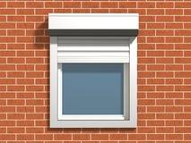 ścienny okno Fotografia Royalty Free