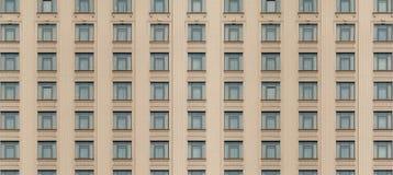Ściennych budynków okno tekstury bezszwowy plenerowy tło Obraz Royalty Free