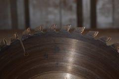 ściernego ostrza kółkowa tnąca talerzowa metalu saw praca Fotografia Stock