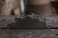ściernego ostrza kółkowa tnąca talerzowa metalu saw praca Obrazy Royalty Free