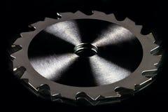 ściernego ostrza kółkowa tnąca talerzowa metalu saw praca obrazy stock