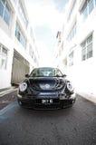 ściga nowy Volkswagen zdjęcia stock