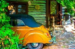 Ściga parkująca w kabina domu Arkansas Obraz Royalty Free