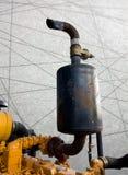 Ścinek ścieżki rocznika abstrakta linii maszynowy parowozowy tło Zdjęcie Royalty Free