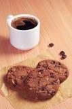 ścinek kawa zawiera ciastek filiżanki kartoteki ścieżkę Zdjęcia Stock