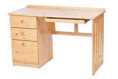 ścinku biurko nad ścieżki nauki biel Fotografia Royalty Free
