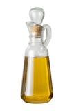 ścinku cruet oleju oliwki ścieżka Zdjęcie Royalty Free