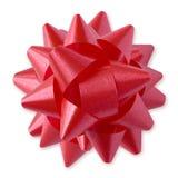 ścinku czerwony ścieżki bow Fotografia Royalty Free