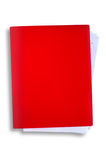 ścinku dossier gorąca ścieżki czerwień zdjęcie stock