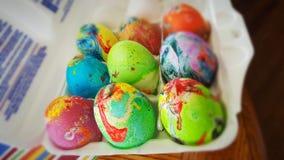 ścinku jajek ester odizolowywający nad ścieżki biel obrazy royalty free