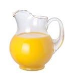 ścinku soku pomarańczowy ścieżki miotacz Obraz Royalty Free
