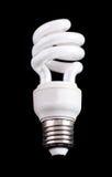ścisły energetyczny fluorescencyjnej lampy oszczędzanie zdjęcia stock