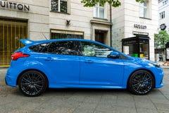 Ścisły samochód Ford Focus RS &-x28; trzeci generation&-x29; Fotografia Stock