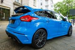 Ścisły samochód Ford Focus RS &-x28; trzeci generation&-x29; Zdjęcie Royalty Free
