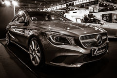 Ścisły samochód Mercedes-Benz CLA200 C117, 2016 Obraz Stock