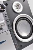 ścisłych mówców stereo system Zdjęcia Royalty Free