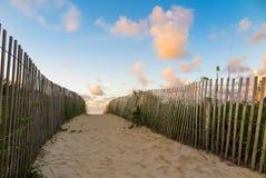 Ślad południe plaża, Miami, Floryda zdjęcie stock
