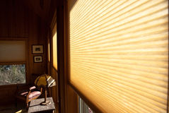 ślepi okno Zdjęcie Royalty Free