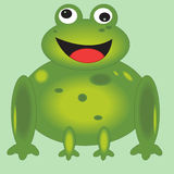 Śliczna żaba Zdjęcia Royalty Free