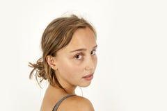 Śliczna atrakcyjna młoda dziewczyna Fotografia Royalty Free