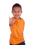 Śliczna azjatykcia chłopiec portret Obrazy Royalty Free