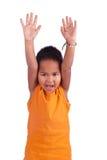 Śliczna azjatykcia chłopiec portret Fotografia Royalty Free