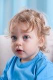 Śliczna chłopiec indoors Zdjęcia Royalty Free