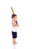 Śliczna mała sporty chłopiec Obraz Stock