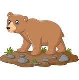 Śliczna dziecko niedźwiedzia kreskówka ilustracji